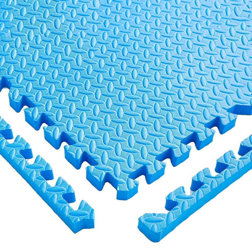 D YAYADU-tapis puzzle en mousse Coupe Libre Couture Créative Prougeection Contre Le Froid Faible Bruit Conception épaissie MultiCouleure Parc D'attractions (Couleur   B, Taille   8PCS) 12PCS