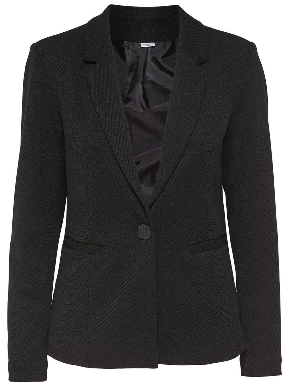 Jacqueline De Yong Women's 15147327BLACK Black Viscose Blazer