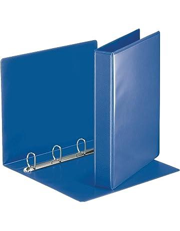 Esselte Group 49700 Essentials - Archivador para presentación (con anillas personalizable, A4, capacidad