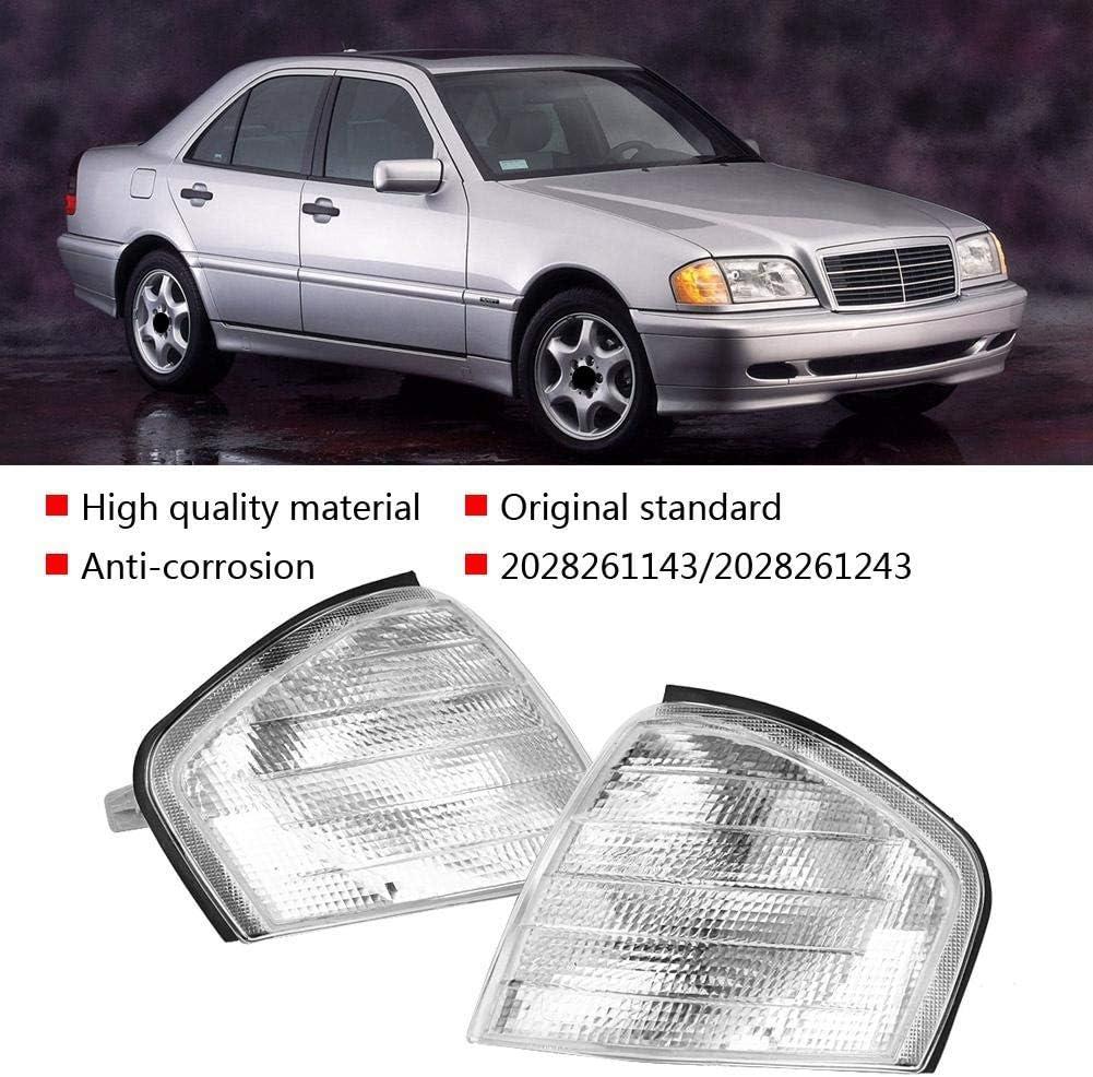 bo/îtier de lampe en coin pour Mercedes Benz Classe C W202. 1 paire dindicateur de signal de stationnement Marqueurs de coin