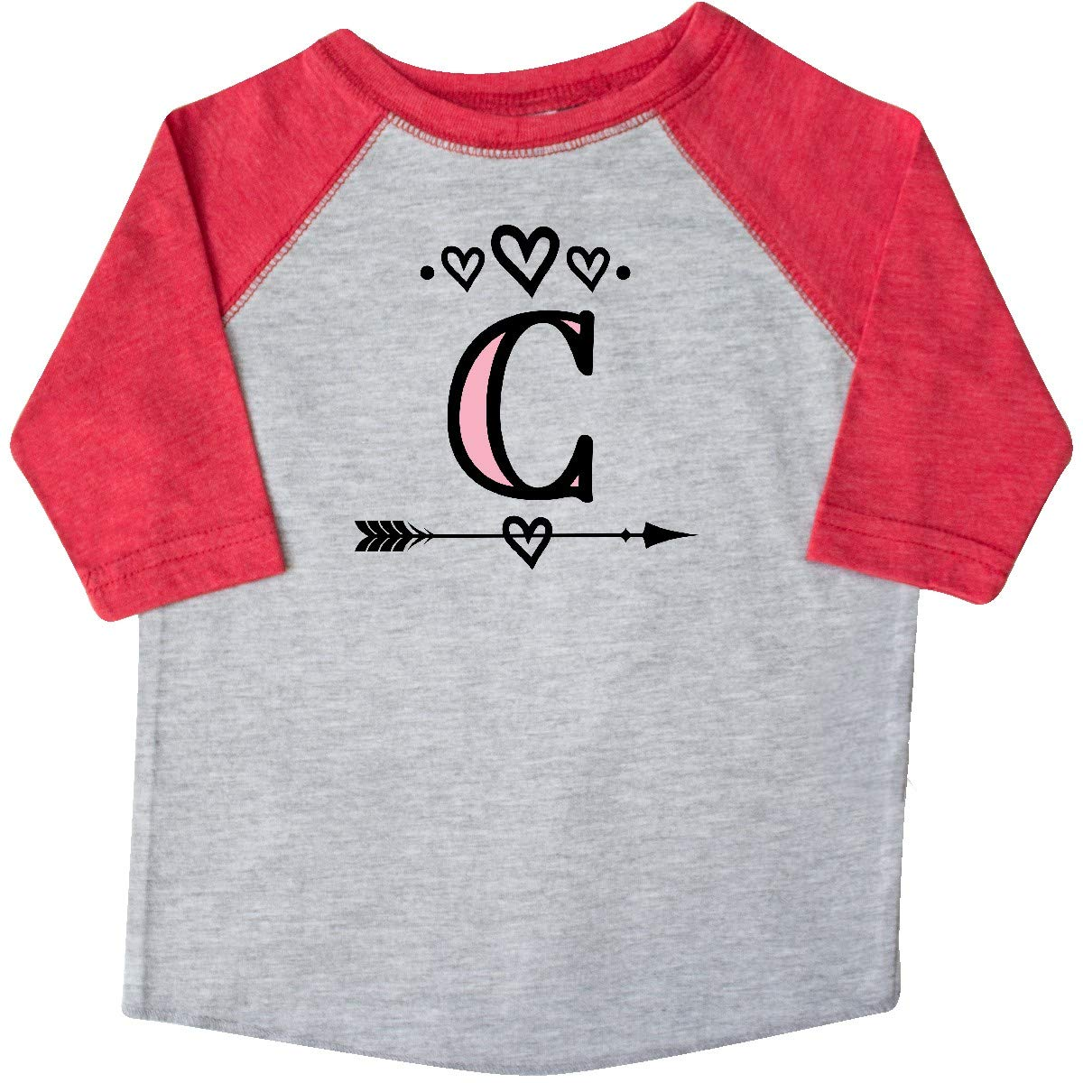 inktastic Letter C Monogram Tribal Arrow Toddler T-Shirt