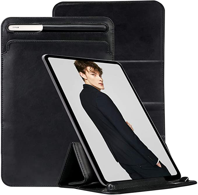 Unique iPad Pro Bag 11 iPad Pro Sleeve Leather 12.9 iPad Covers Distressed Brown iPad Pro 10.5 Case Apple Pencil Holder