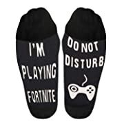 Lakatay Soft Unisex Sock IF You Can Read This Bring Me Some Wine Cotton Socks (Do Not Disturb I'm Playing)