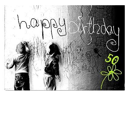 DigitalOase - Tarjeta de felicitación de 50 cumpleaños ...
