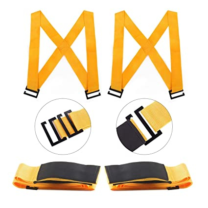 Amazon com: 2 Person Moving Straps Heavy Duty Lifting and