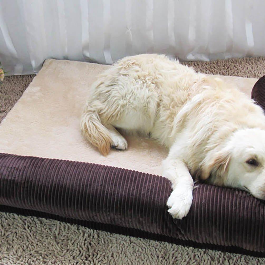 YOUJIA Sofa Cama Para Mascotas Perros Gatos Cama Cojín Sofá Cojines (Café, L): Amazon.es: Hogar