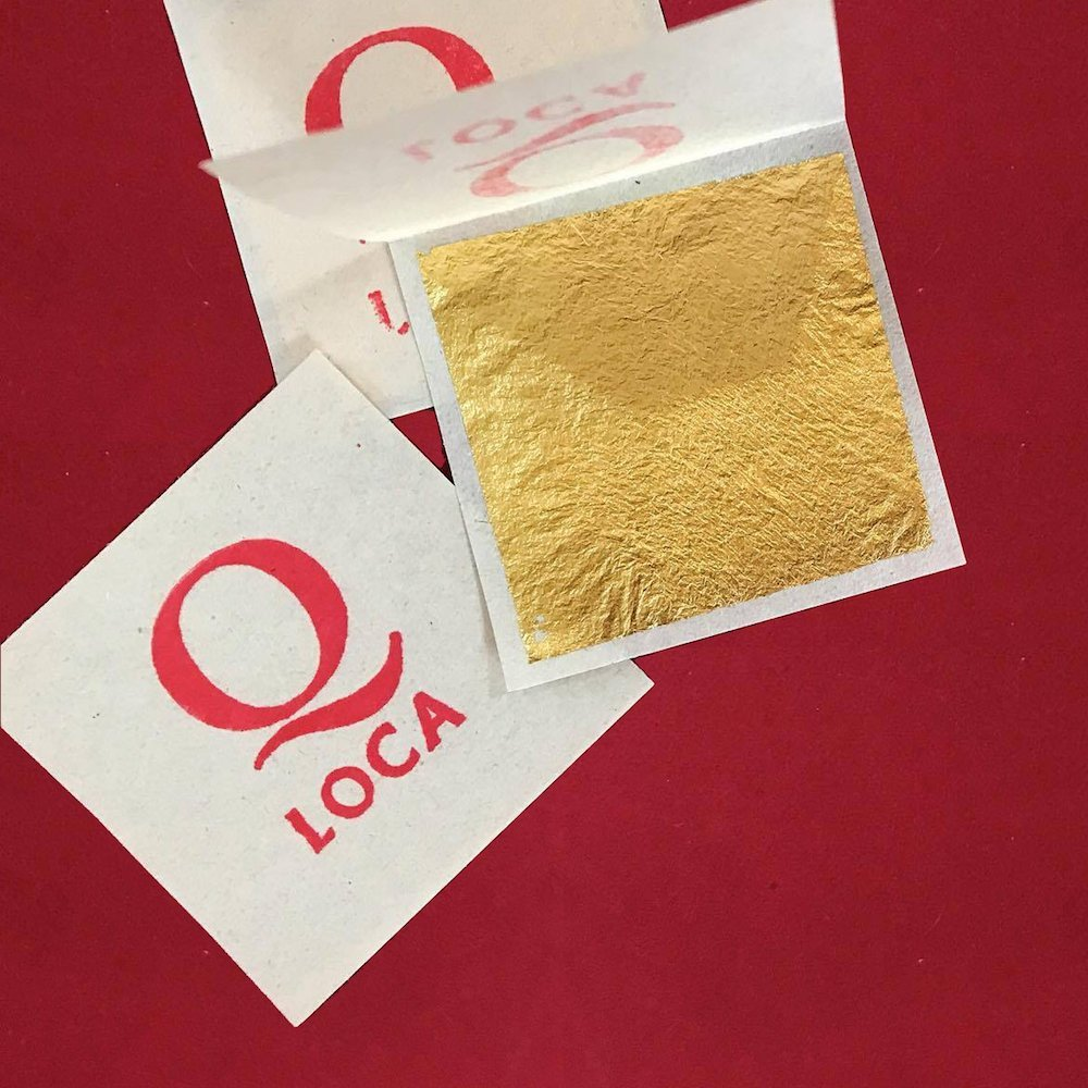 24K GENUINE GOLD LEAF 100% Thai Gold Leaf Gliding Sheets for Buddha & Other Decoration (1000)
