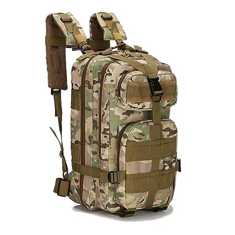 horeen Mochila táctica Militar Mochilas pequeñas Bolsa de Senderismo Trekking al Aire Libre Camping Tactical Molle