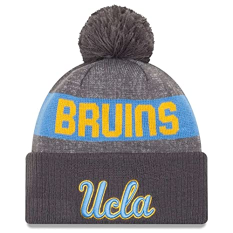 1188df1038df9 Image Unavailable. Image not available for. Color  UCLA Bruins New Era Sport  Knit Beanie ...