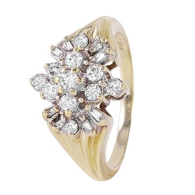 bague diamant 0.45 carat