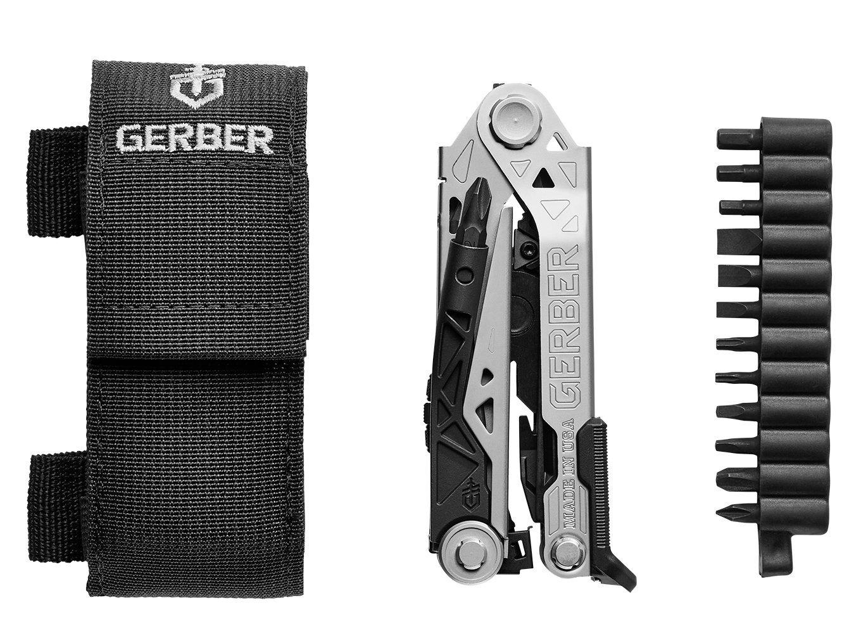 Gerber Center-Drive Multi-Tool | Bit Set, Black US-Made Sheath [30-001198] by Gerber (Image #1)