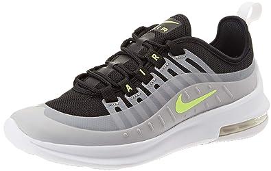 bca248399392e Nike Girls Air Max Axis Running Shoes, Multicolour (Black/Volt-Wolf Grey