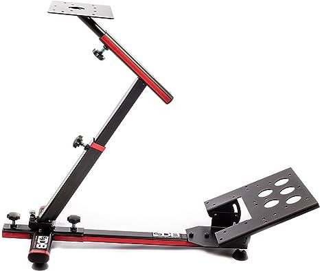 69DB – Wheel Stand EVO – Soporte Universal bielas, Volante y Caja de Cambios para simulador de Carreras E-Sport/e-Race sobre PC/Mac y Consoles – Negro y Rojo: Amazon.es: Informática