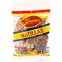 Natillas Linares, Dulce de Leche de Cabra - Multipack de 4 Bolsas (13 piezas de 17 g por bolsa)