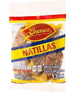 Linares Natilla Milk Candy 4-Pack (13 pieces of .6 Oz. per