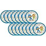 ALMACENESADAN 0522; Pack 16 Vasos Fiesta Pocoyo y Nina; Ideal para ...