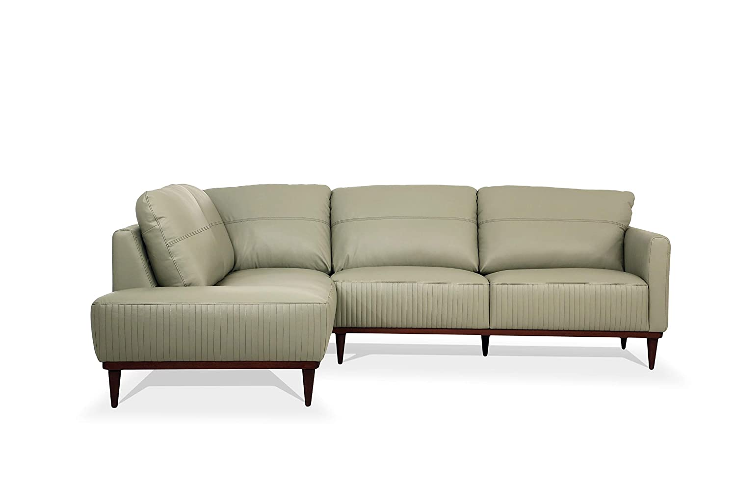 Amazon.com: ACME Furniture 54995 Tampa Sectional Sofa, Airy ...