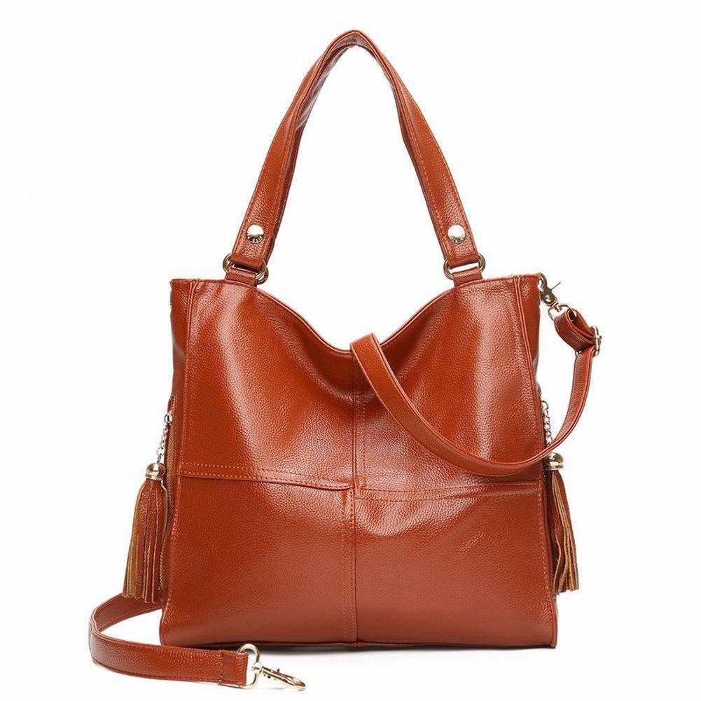 Weibliche Tasche in Der Alten Schulter Messenger Handtasche Nähen Handtaschen , braun