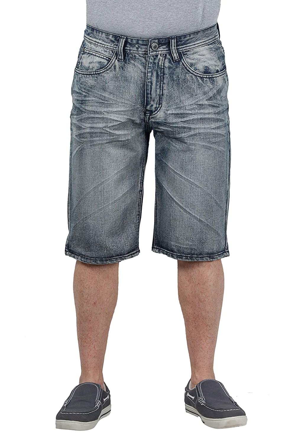 Blacksmith Mens Long Denim Short