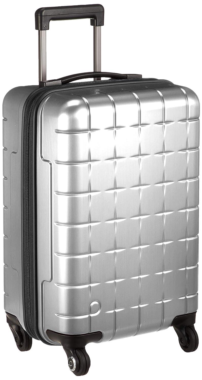 [プロテカ] スーツケース 日本製 360Tメタリック キャスターストッパー付 機内持ち込み可 33L 49cm 3.1kg 02931  シルバー B07MM3WDDB