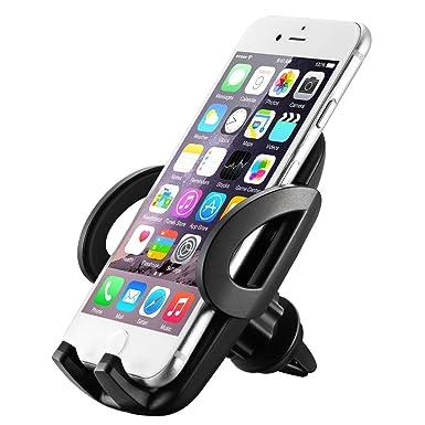 Soporte de coche para teléfonos móviles QZT, ajustable, para colocar