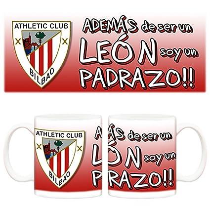 Taza Día del padre padrazo y además un León Athletic Club Bilbao fútbol 5942edff8d286
