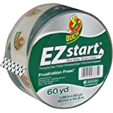 Amazon Price History for:Duck Brand EZ Start Packing Tape Refill, 1.88 Inch x 60 Yard, Clear, 1 Roll (299002)