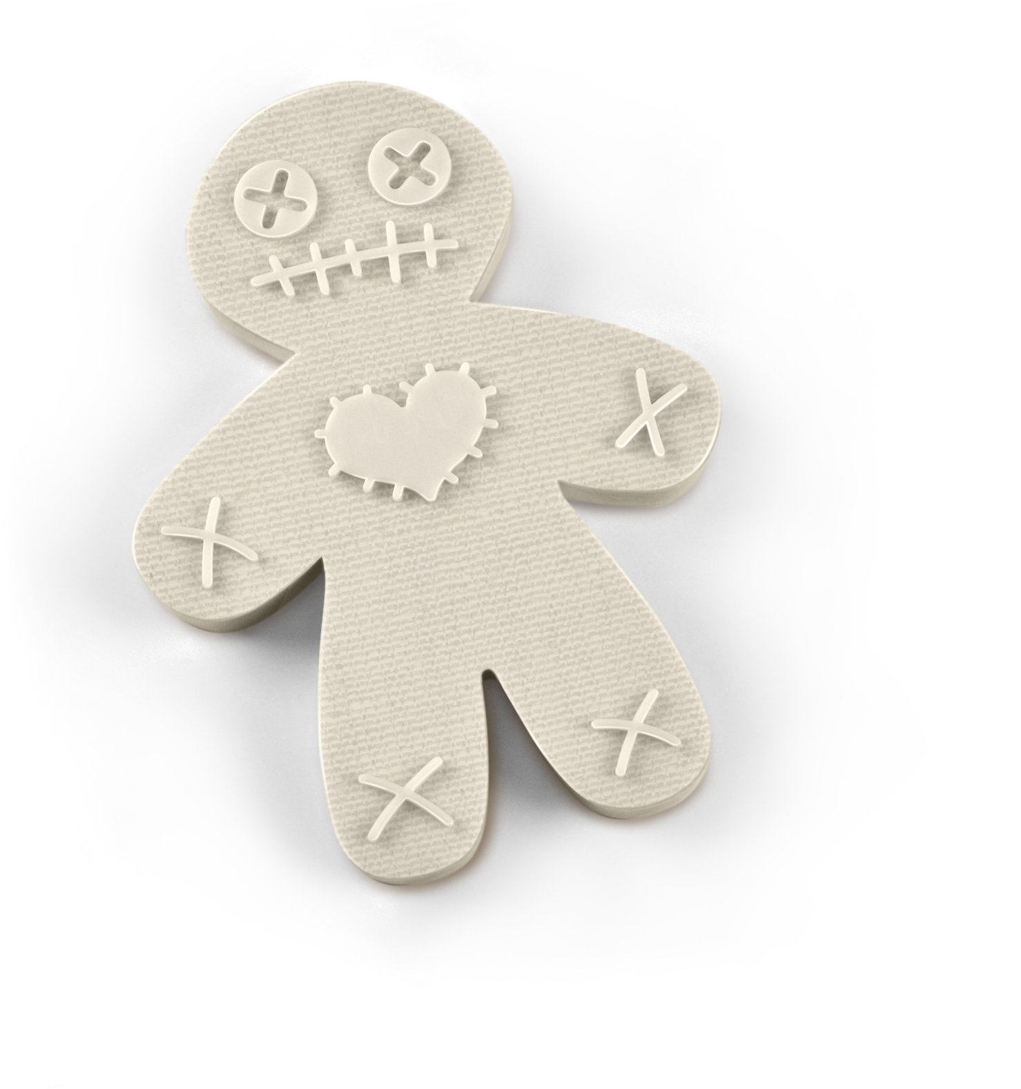Fred CURSED COOKIES Voodoo Doll Cookie Cutter/Stamper