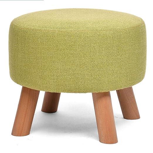 Zichen Wooden stool Taburete de Madera, Esponja de Cuatro ...