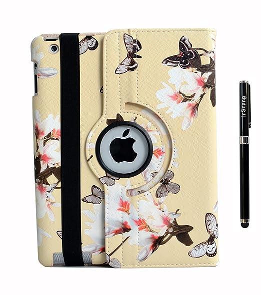 146 opinioni per Custodia per IPAD 2 iPad 3 iPad4, inShang Cover case in pelle PU- La rotazione a