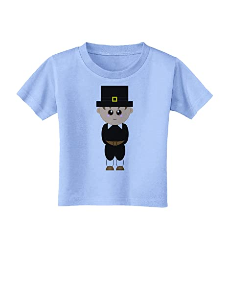 Amazon.com: Cute pilgrim Boy Thanksgiving bebé T-Shirt, 3T ...