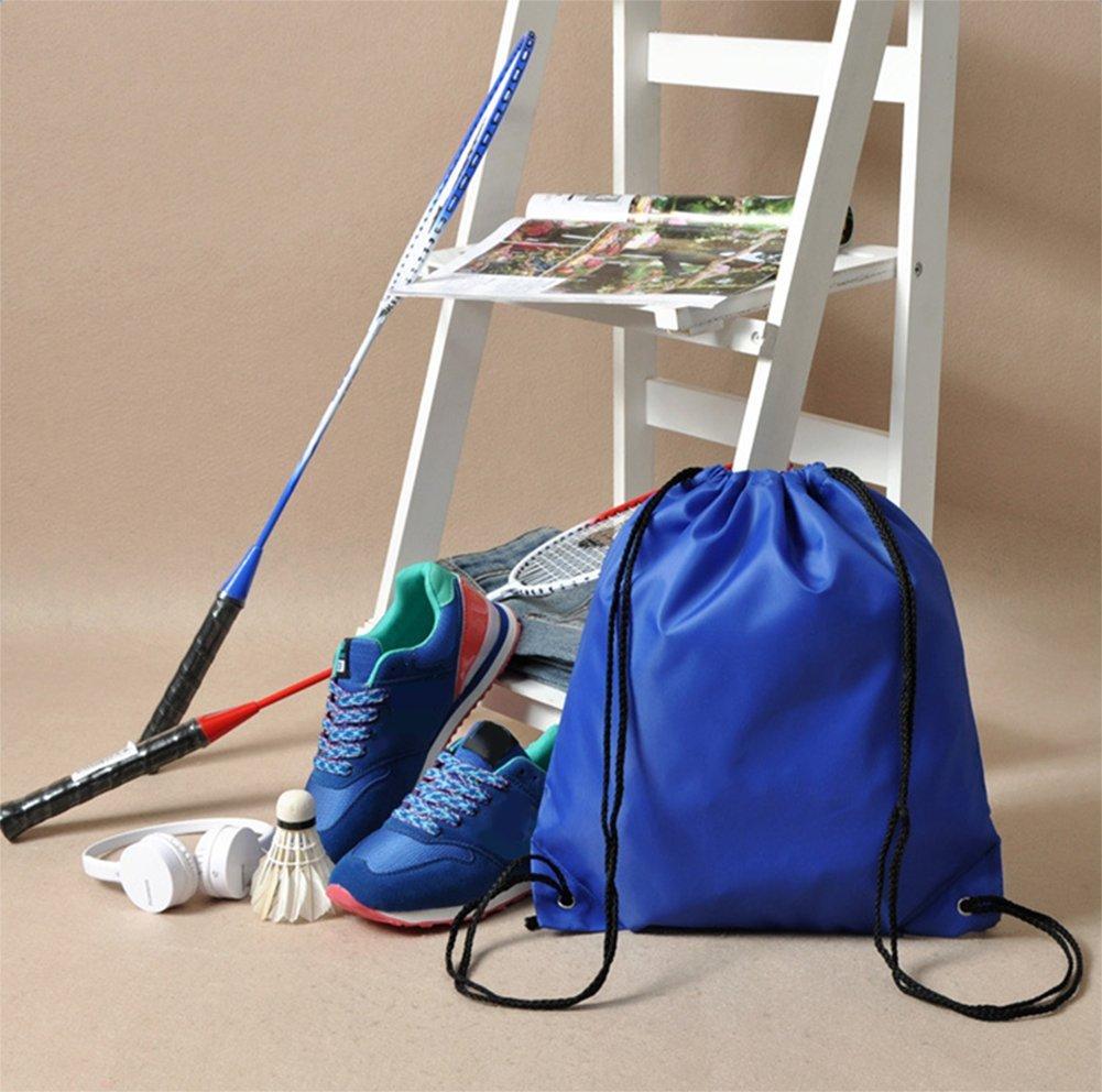 Yonger Drawstring Bag Pack Oxford cloth Folding Travel Sport Storage Drawstring Backpack Sack Bag Tote Bags by Yonger (Image #5)