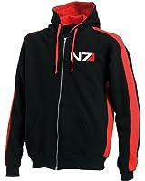 Mass Effect N7 Hoodie - Gaming Geek 2 Tone Zip Hoody Sizes S - 3XL