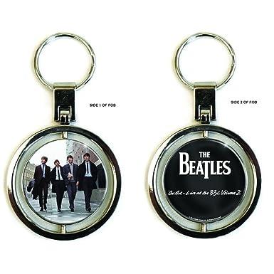 Amazon.com: The Beatles Band llavero on air Logo oficial ...
