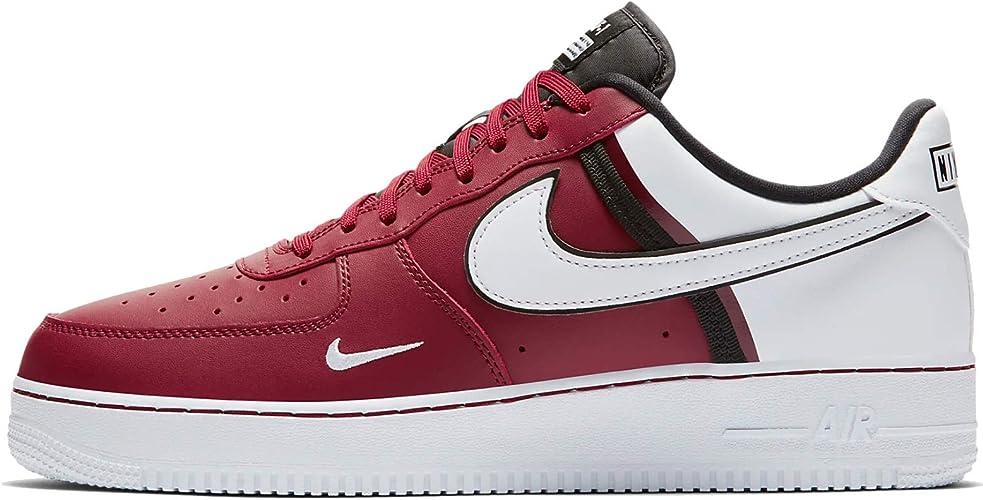 Nike Herren Air Force 1 '07 LV8 Freizeitschuhe, (Team Red