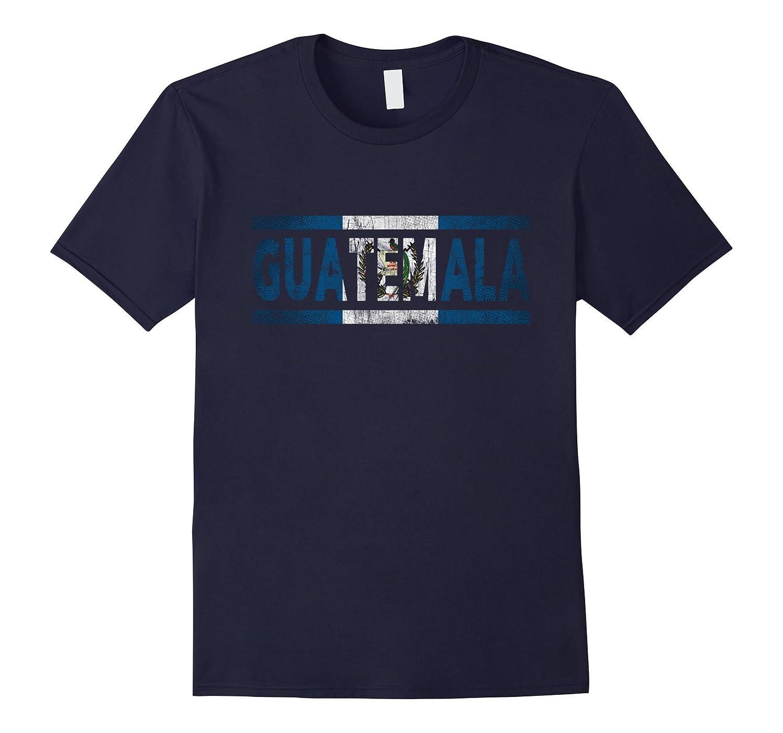 Guatemala Retro Flag T-Shirt Guatemalan Distressed Graphic-PL
