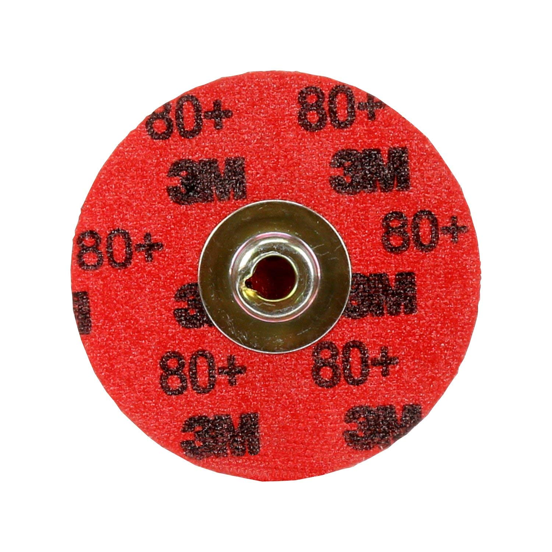 3 Diameter 051141277189 Pack of 50 3M Cubitron II Roloc Durable Edge Disc 984F TR Precision Shaped Ceramic Grain 80 Grit YF-Weight Cloth 3 Diameter