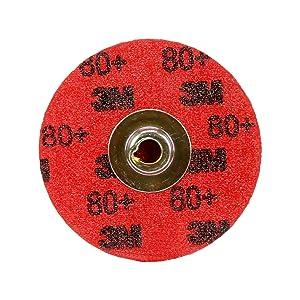3M Cubitron II Roloc Durable Edge Disc 984F, TSM, 2 in 80+ YF-weight