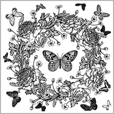 BUTTERFLY Butterfly/'s  Silicon Stamps Transparent Stamp Seal  Cards