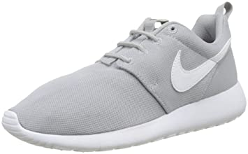 cheap for discount 03dbc 241a0 Nike Youth Roshe One (Wolf Grey White White)(1 M US