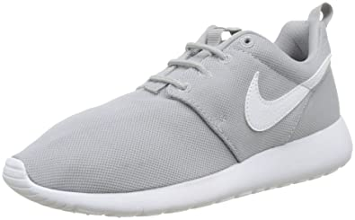 buy online 235d3 1eb58 Nike Youth Roshe One GS Mesh Wolf Grey Trainers 4.5 US