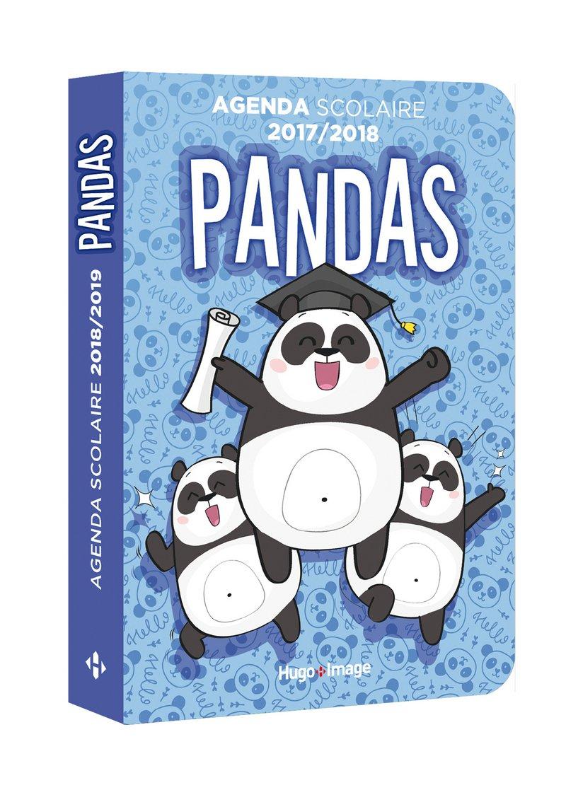 Agenda scolaire Panda: 9782755637304: Amazon.com: Books