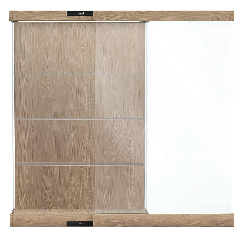 Amazon Vantage 24 W Modern Floor Display Case Wood Laminate