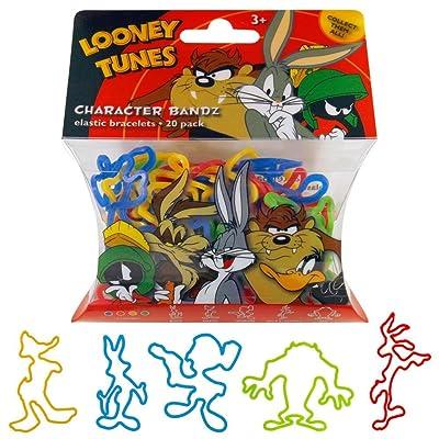 Looney Tunes Boys (Bugs) Logo Bandz Bracelets (20 Bandz Per Pack): Sports & Outdoors