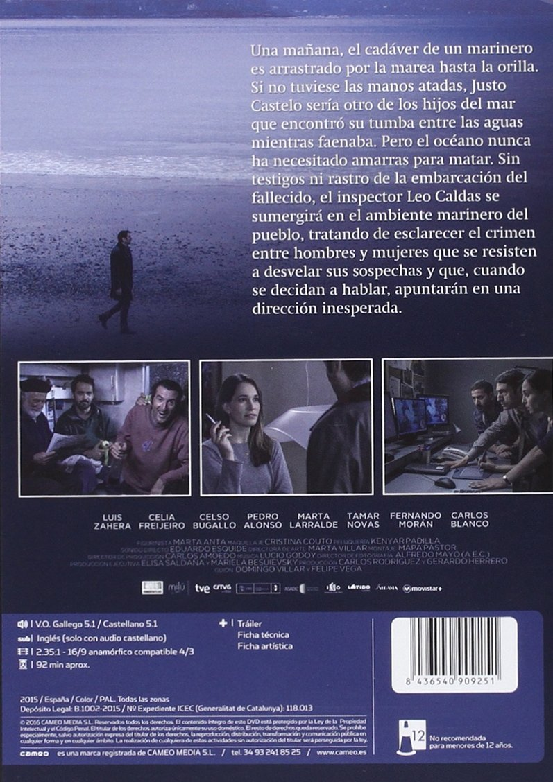La Playa De Los Ahogados [DVD]: Amazon.es: Carmelo Gómez, Antonio Garrido,  Tamar Novas, Celso Bugallo, Celia Freijeiro, Marta Larralde, Luis Zahera,  ...