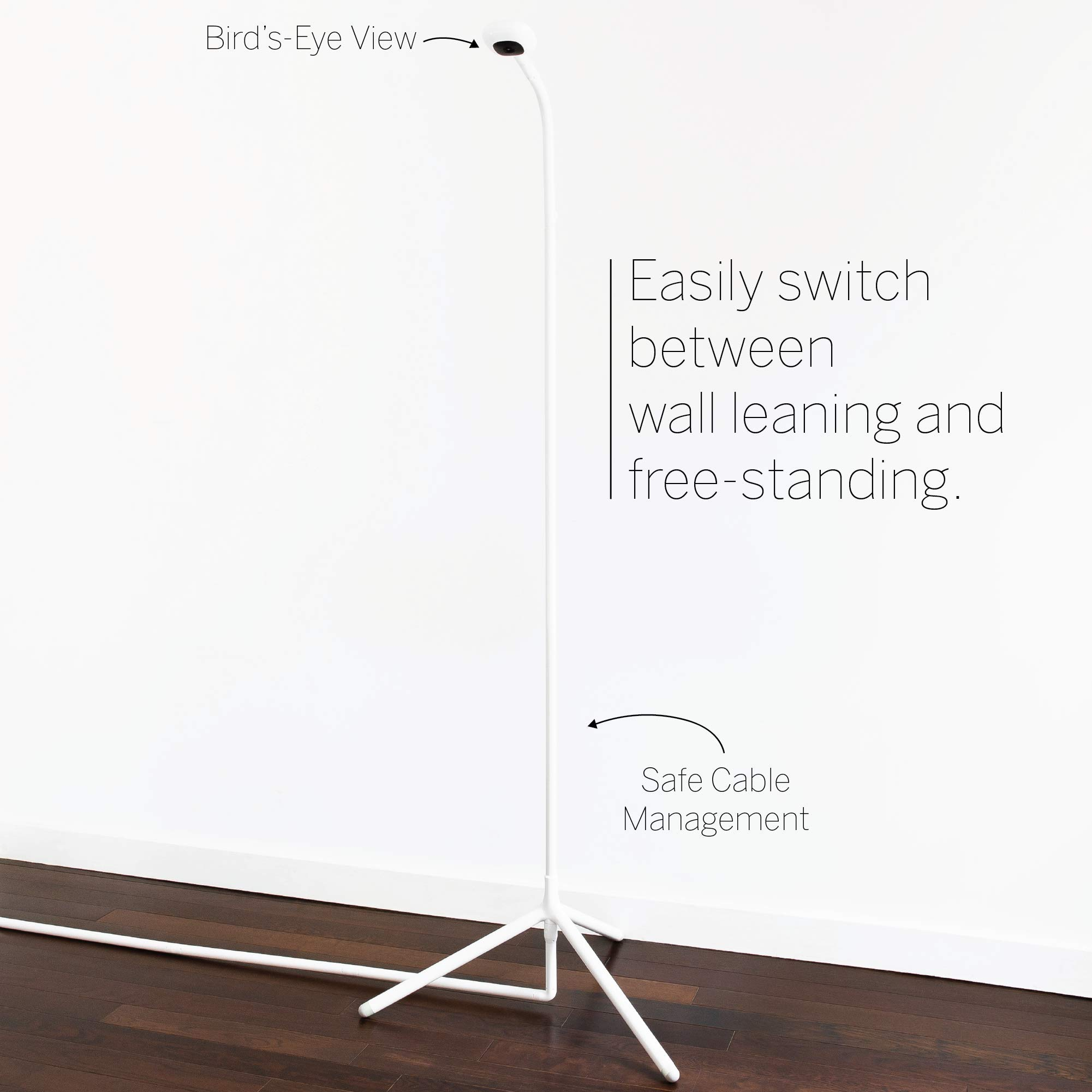 Nanit Smart Baby Monitor and Wall Stand Camera HD Video Audio Sleep Tracking For