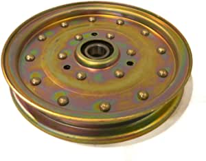 """Flat Idler Pulley for 2005-2007 Toro Z Master Z449-74413 with 48/"""" Deck Mowers"""