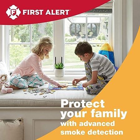 First Alert 10-Year Tamper Resistant Smoke Alarm, 0827B