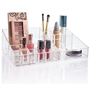 STORi Premium Quality Clear Plastic Cosmetic and Makeup Palette Organizer | Audrey Collection