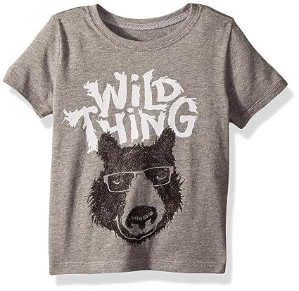 Life is Good Wild Bear Crusher Tee